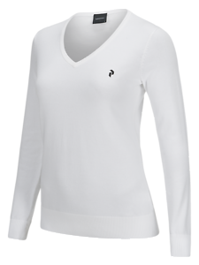 PEAK PERFOMANCE WOMEN'S GOLF CLASSIC V-NECK SWEATER