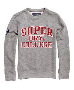 SUPERDRY UPSTATE WASH CREW NECK SWEATER