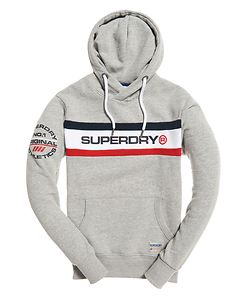 SUPERDRY TROPHY CHEST BAND HOODIE