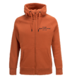 PEAK PERFORMANCE MEN'S LOGO ZIPPED SWEATER