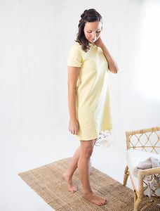 PURA ORGANIC SHORT SLEEVE DRESS